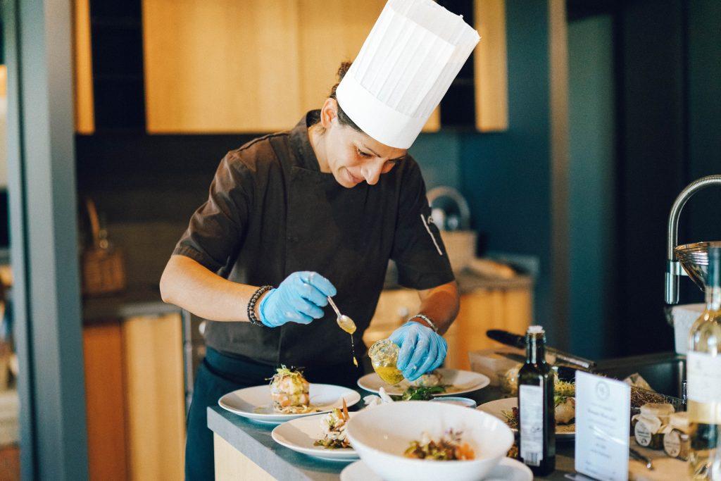 Chef Delphine Bodiguel